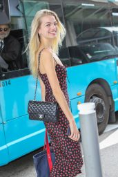 Daphne Groeneveld at Nice Airport 05/23/2019