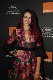 Delphine Wespiser – Orange Party in Cannes 05/18/2019