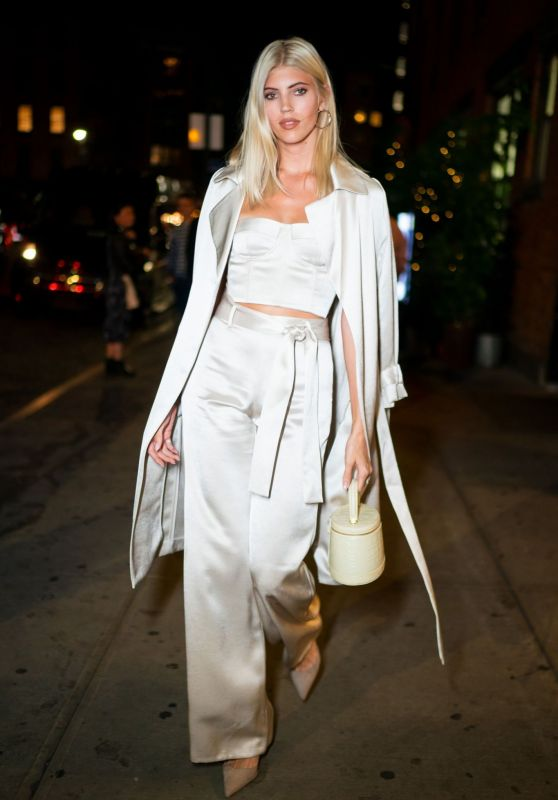 Devon Windsor – Arriving at Olivia Culpo's 27th Birthday 05/08/2019