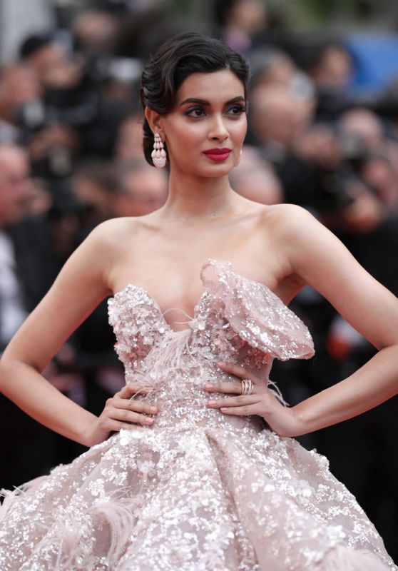 "Diana Penty – ""A Hidden Life"" Red Carpet at Cannes Film Festival"