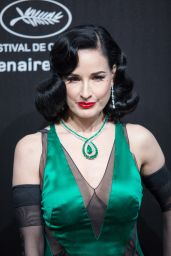 Dita Von Teese – Chopard Party at the 72nd Cannes Film Festival