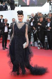 "Dita Von Teese – ""Les Miserables"" Red Carpet at Cannes Film Festival"