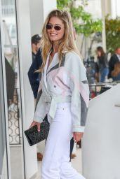 Doutzen Kroes is Stylish – Martinez Hotel in Cannes 05/21/2019
