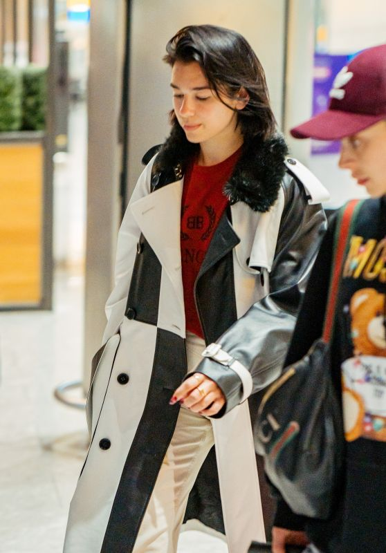 Dua Lipa - Heathrow Airport in London 05/26/2019