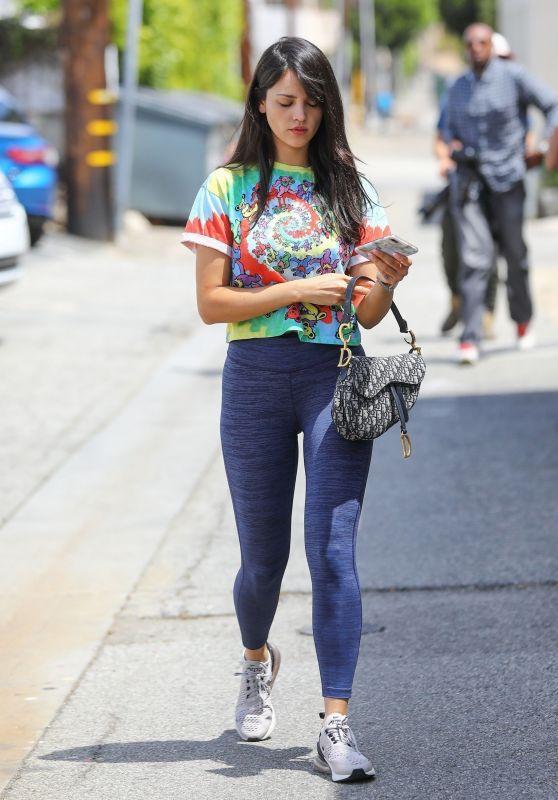 Eiza Gonzalez - Leaving a Salon in LA 05/06/2019
