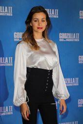 "Elisa Bachir Bey – ""Godzilla II – Roi des Monstres"" Premiere in Paris"