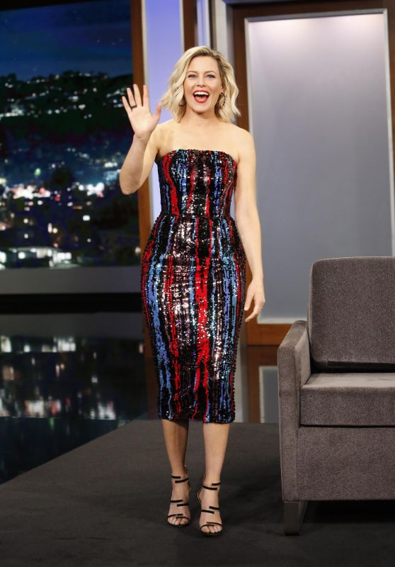 "Elizabeth Banks - Promoting ""Brightburn"" on Jimmy Kimmel Live in LA 05/21/2019"