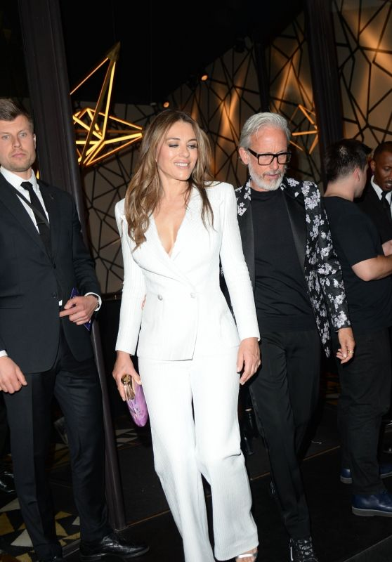"Elizabeth Hurley - Leaving ""Rocketman"" Premiere and Afterparty in London"