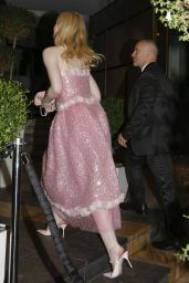 Elle Fanning - Arriving at Chanel Party in Cannes 05/22/2019