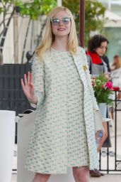 Elle Fanning Chic  Style - Martinez Hotel in Cannes 05/21/2019