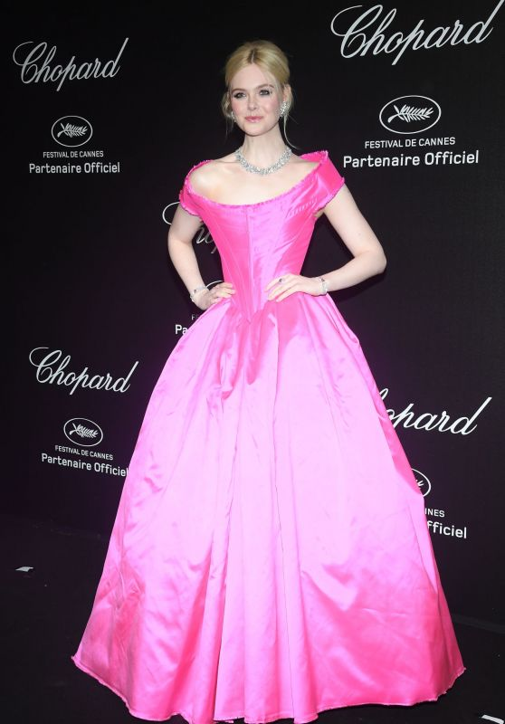 Elle Fanning - Chopard Party at the 72nd Cannes Film Festival