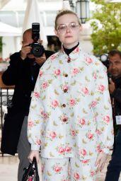 Elle Fanning Cute Style - Cannes 05/18/2019