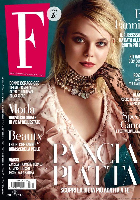 Elle Fanning - F Magazine N20, 05/22/2019