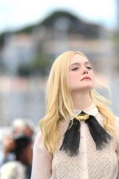 Elle Fanning - Jury photocall at the Cannes Film Festival