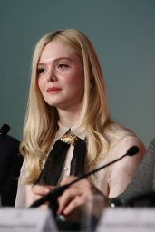 Elle Fanning - Jury Press Conference at the Cannes Film Festival 05/14/2019