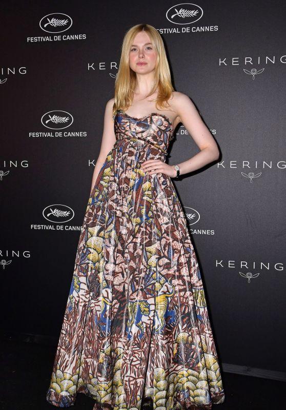 Elle Fanning - Kering Women in Motion Awards at Cannes Film Festival