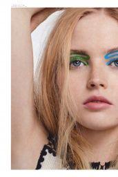 Ellie Bamber - Glamour Magazine Espana June 2019