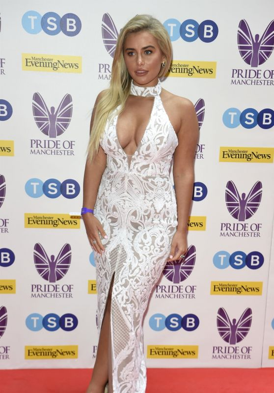 Ellie Brown - The Pride Of Manchester Awards in Manchester 05/08/2019