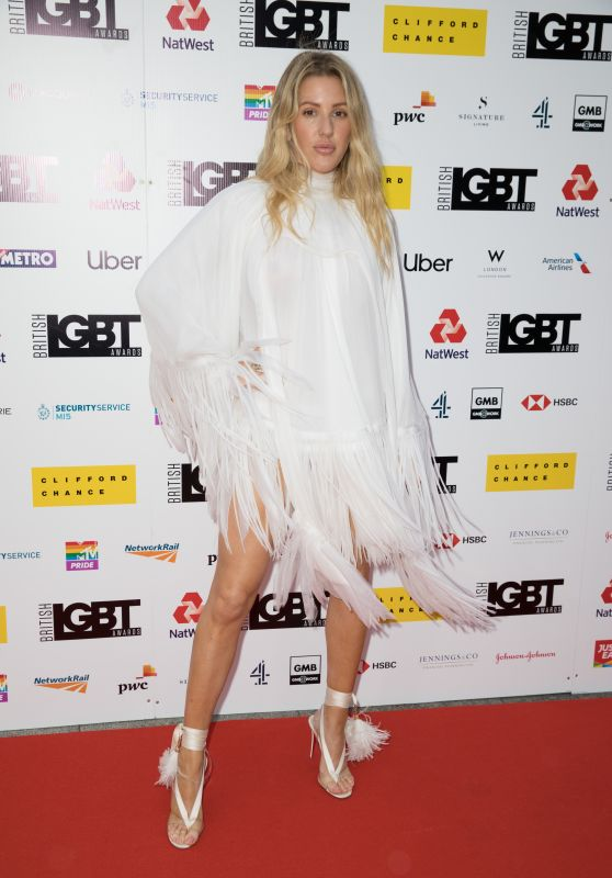 Ellie Goulding – LGBT Awards 2019 in London