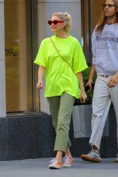 Elsa Hosk - Shopping at Balenciaga in NYC 05/27/2019