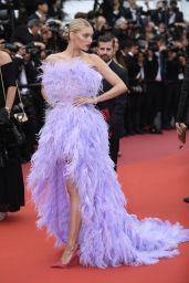 "Elsa Hosk – ""Sibyl"" Red Carpet at Cannes Film Festival"