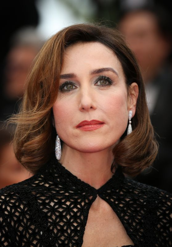 """Elsa Zylberstein - """"The Best Years of a Life"""" Red Carpet at Cannes Film Festival"""