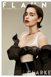 Emilia Clarke - Flaunt Magazine Issue 166 (2019)