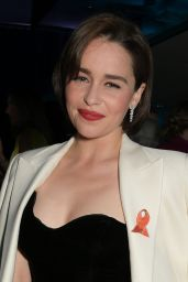 Emilia Clarke - SMS Battles Quiz For The MS Society in London 05/16/2019
