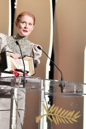 Emily Beecham Receives the Best Actress Award at the Closing Ceremony - 72nd Cannes Film Festival 05/25/2019