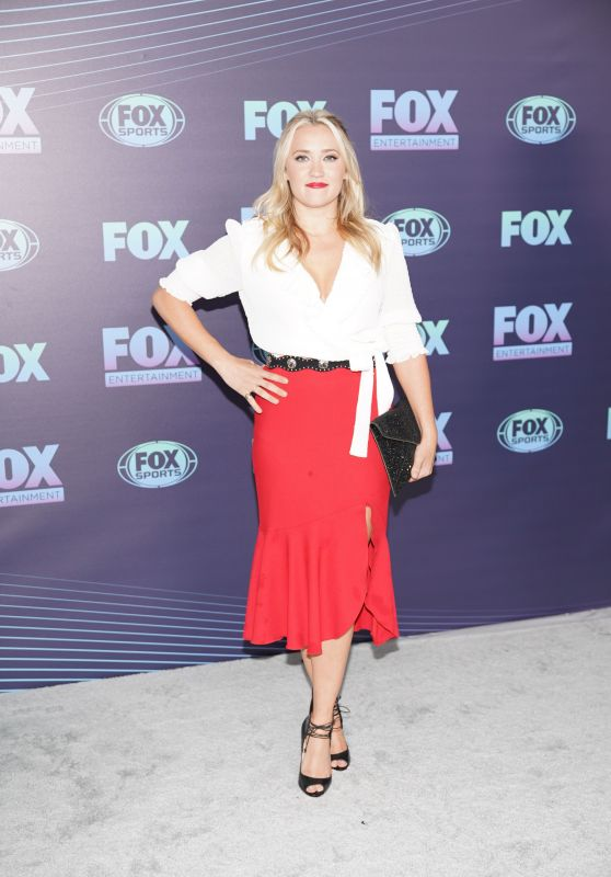 Emily Osment - Fox Upfront Presentation in NYC 05/13/2019
