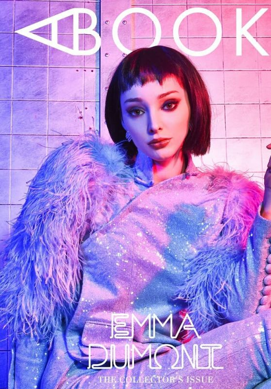Emma Dumont - Photoshoot for A Book of Emma Dumont 2019