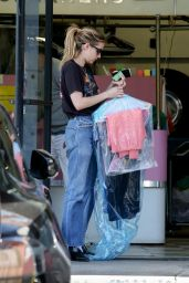 Emma Roberts - Getting Her Dry Cleaning in LA 05/01/2019