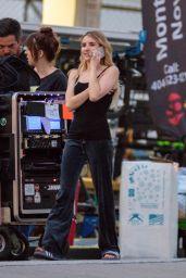 "Emma Roberts - ""Holidate"" Set in Atlanta 05/16/2019"