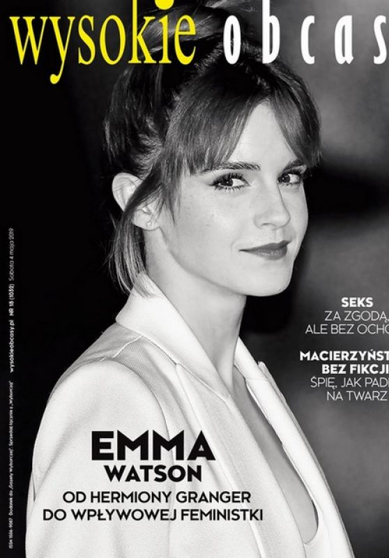 Emma Watson - Wysokie Obcasy Magazine Poland May 2019