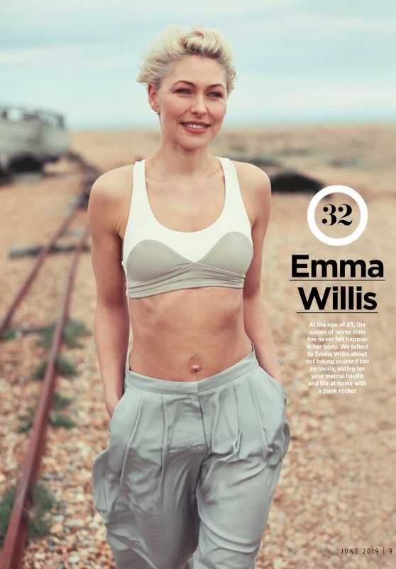 Emma Willis - Women's Health Magazine UK June 2019 Issue