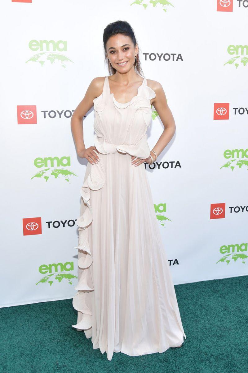 Gorgeous Emmanuelle Chriqui fucking hot at 2019 Environmental Media Awards in Beverly Hills