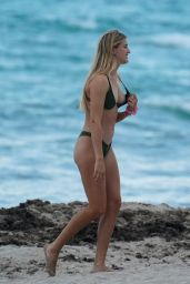 Eugenie Bouchard in Bikini on the Beach in Miami 05/04/2019