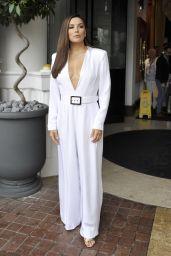 Eva Longoria - Leaving the Majestic Hotel in Cannes 05/18/2019