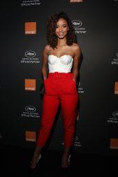 Flora Coquerel – Orange Party in Cannes 05/18/2019