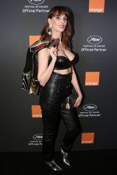 Frederique Bel – Orange Party in Cannes 05/18/2019