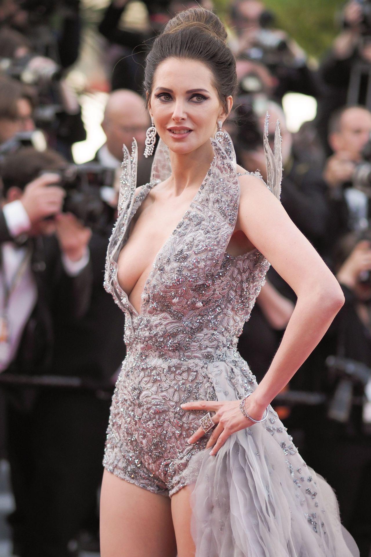 Frederique Bel - Rocketman Red Carpet at Cannes Film