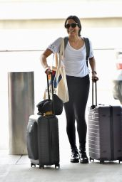 Freida Pinto - LAX Airport in Los Angeles 05/02/2019