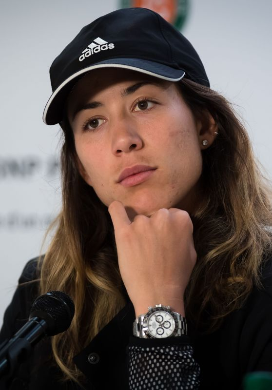 Garbine Muguruza Talks to the Press – Roland Garros in Paris 05/26/2019