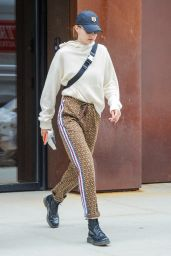 Gigi Hadid in a Pair of High Fashion Sweats 05/28/2018