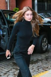 Gigi Hadid in an All-Black Ensemble - NYC 05/23/2019