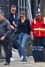 Gisele Bundchen and Tom Brady - Catch a Helicopter Out of NYC 05/07/2019