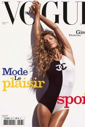 Gisele Bündchen - Vogue Paris June/July 2019 Issue