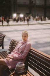 Greta Bellamacina – Chanel Cruise Collection 2020 Photocall in Paris