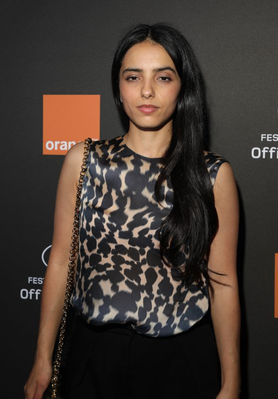 Hafsia Herzi – Orange Party in Cannes 05/18/2019