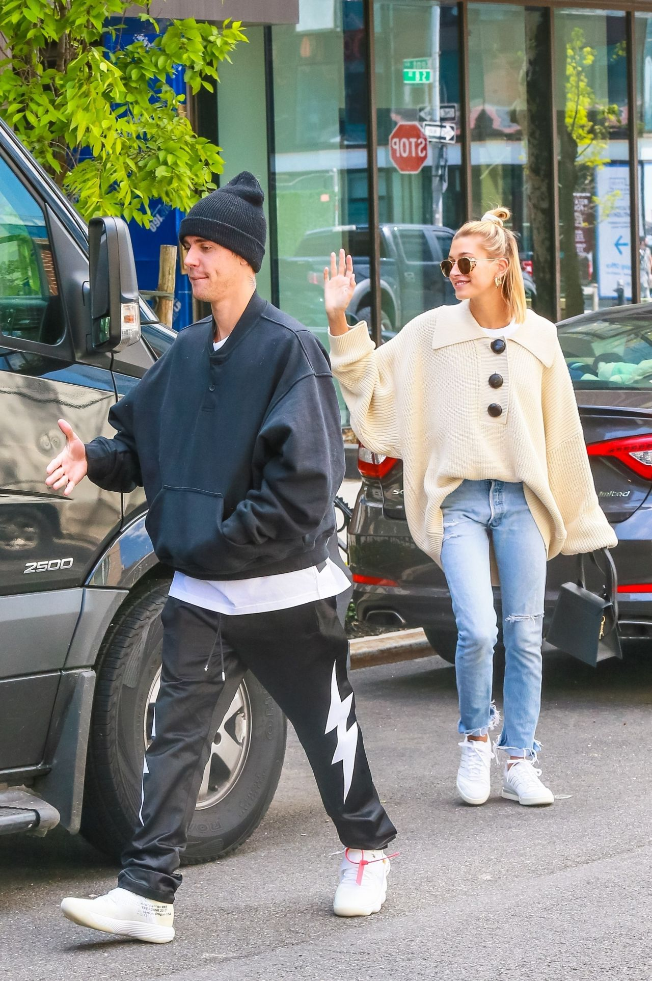 Hailey Rhode Bieber And Justin Bieber Out In Nyc 05 08 2019